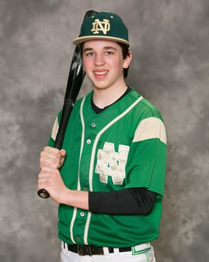 buy online a13c6 452fc Ryan Cannon - Freshmen Baseball - Notre Dame High School ...
